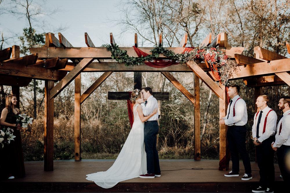 Michelle + Aron-Houston Wedding Photographer-Magnolia Meadows-Winter Wedding | Kristen Giles Photography - 047.jpg