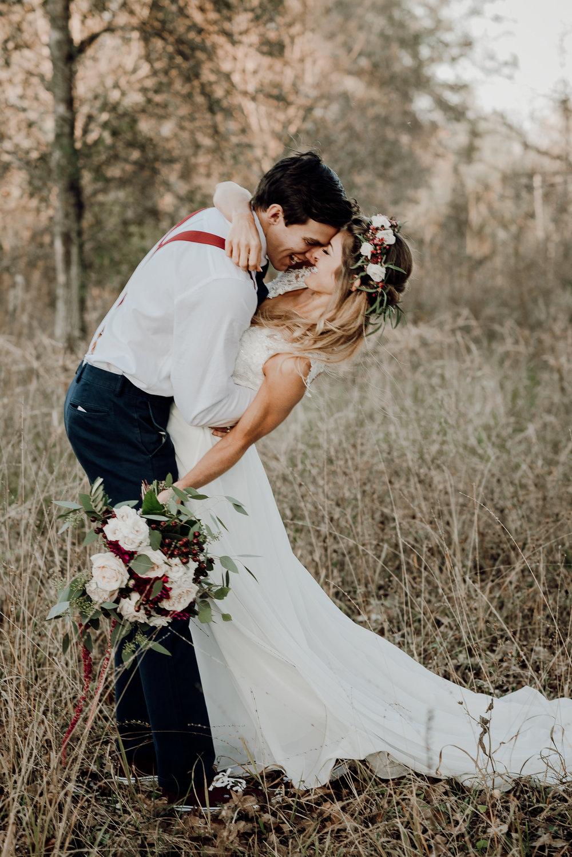 Michelle + Aron-Houston Wedding Photographer-Magnolia Meadows-Winter Wedding | Kristen Giles Photography - 061.jpg