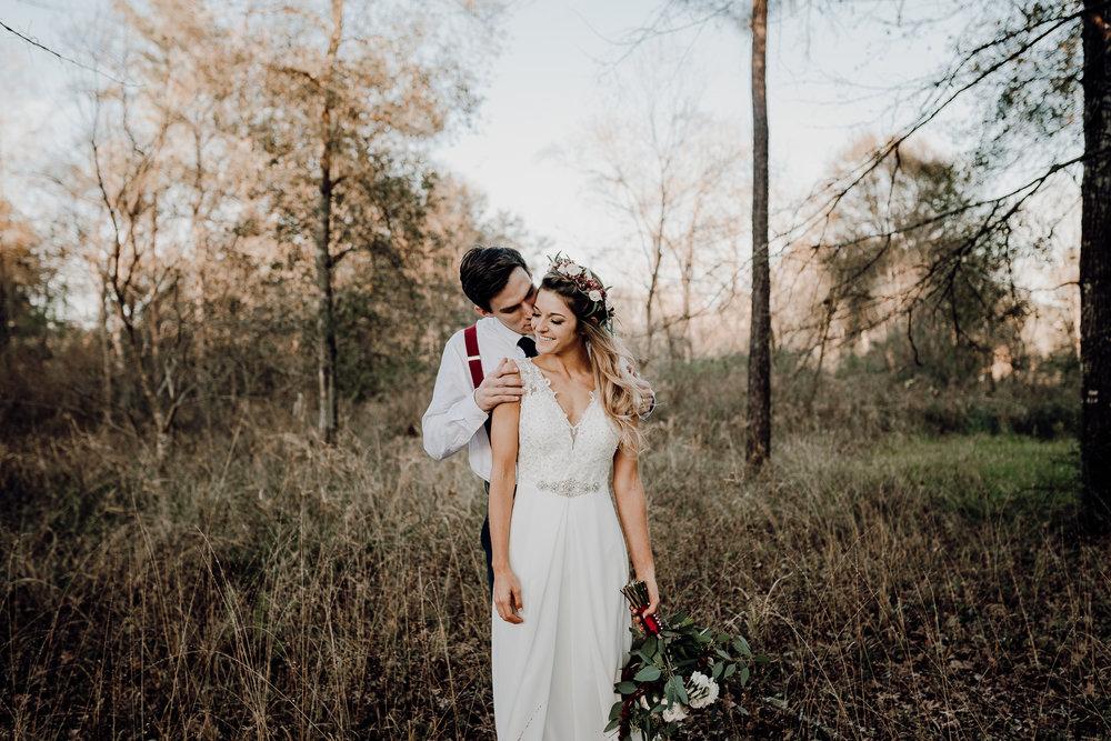 Michelle + Aron-Houston Wedding Photographer-Magnolia Meadows-Winter Wedding | Kristen Giles Photography - 064.jpg
