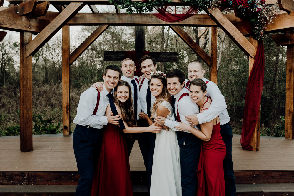 Michelle + Aron-Houston Wedding Photographer-Magnolia Meadows-Winter Wedding | Kristen Giles Photography - 067.jpg