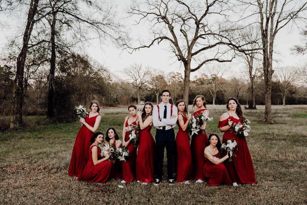 Michelle + Aron-Houston Wedding Photographer-Magnolia Meadows-Winter Wedding | Kristen Giles Photography - 069.jpg