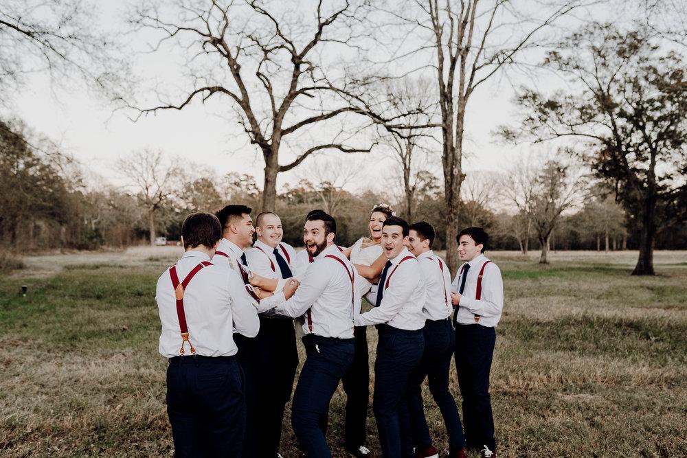 Michelle + Aron-Houston Wedding Photographer-Magnolia Meadows-Winter Wedding | Kristen Giles Photography - 070.jpg