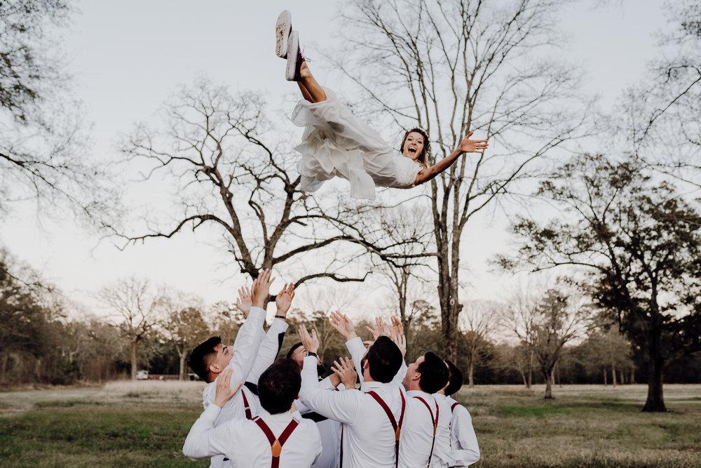 Michelle + Aron-Houston Wedding Photographer-Magnolia Meadows-Winter Wedding | Kristen Giles Photography - 071.jpg