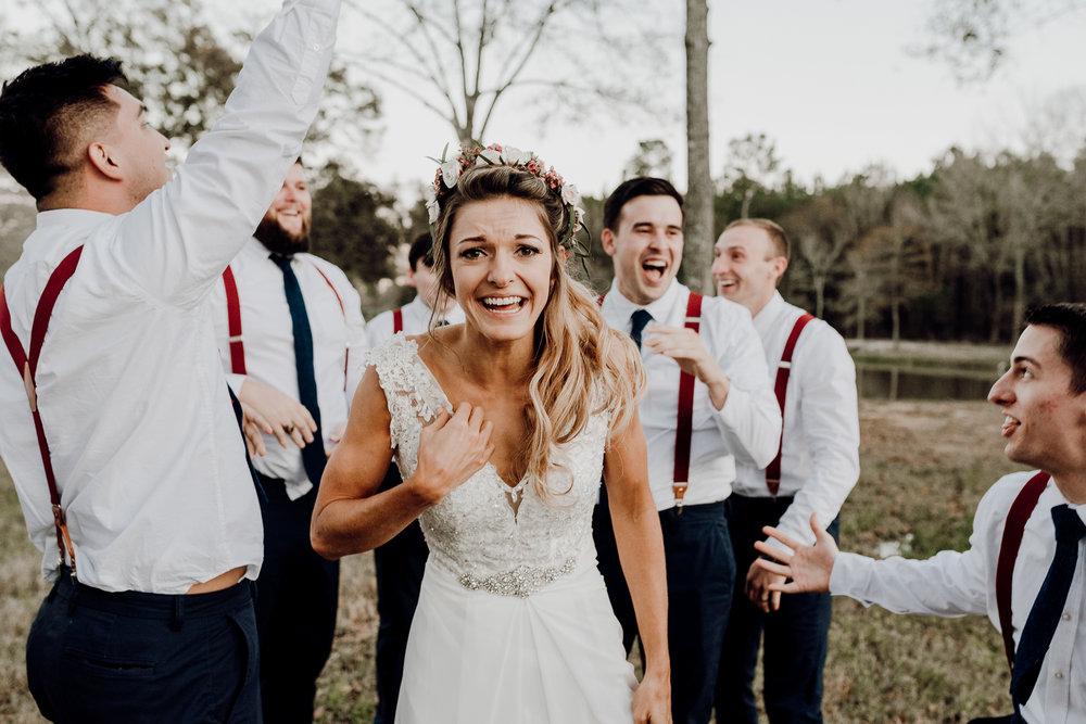 Michelle + Aron-Houston Wedding Photographer-Magnolia Meadows-Winter Wedding | Kristen Giles Photography - 073.jpg
