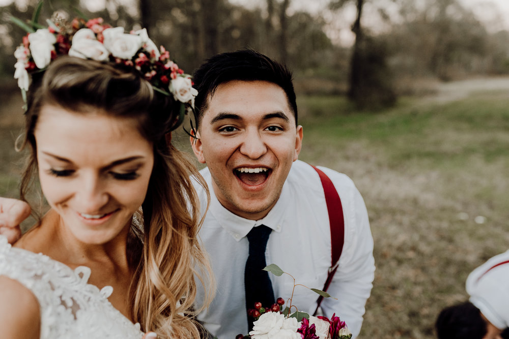 Michelle + Aron-Houston Wedding Photographer-Magnolia Meadows-Winter Wedding | Kristen Giles Photography - 078.jpg