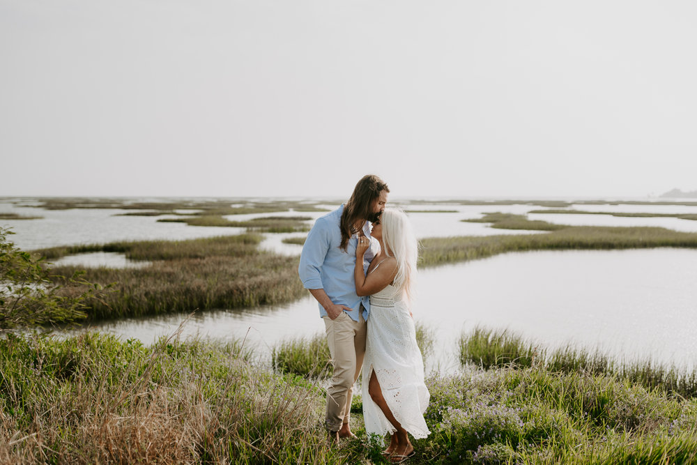 Ashley + Charles - Galveston Texas Moody Engagement Session | Kristen Giles Photography - 003.jpg