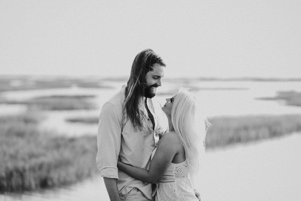 Ashley + Charles - Galveston Texas Moody Engagement Session | Kristen Giles Photography - 005.jpg