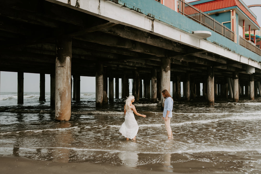 Ashley + Charles - Galveston Texas Moody Engagement Session | Kristen Giles Photography - 018.jpg