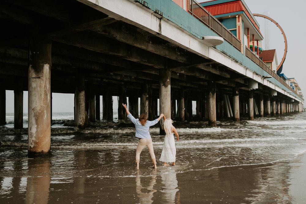 Ashley + Charles - Galveston Texas Moody Engagement Session | Kristen Giles Photography - 020.jpg