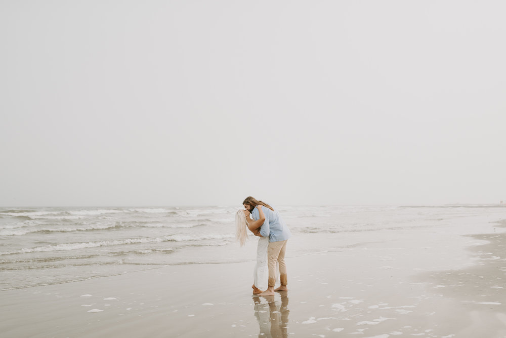 Ashley + Charles - Galveston Texas Moody Engagement Session | Kristen Giles Photography - 024.jpg