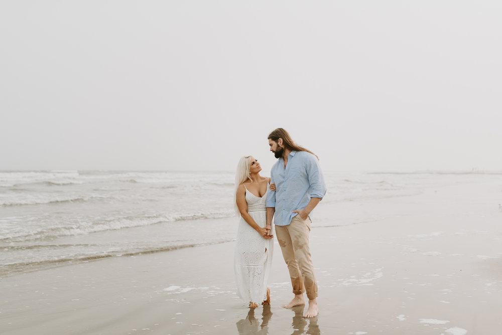 Ashley + Charles - Galveston Texas Moody Engagement Session | Kristen Giles Photography - 025.jpg