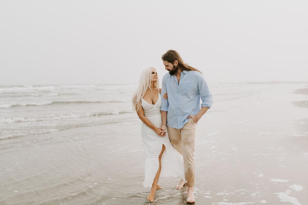 Ashley + Charles - Galveston Texas Moody Engagement Session | Kristen Giles Photography - 026.jpg