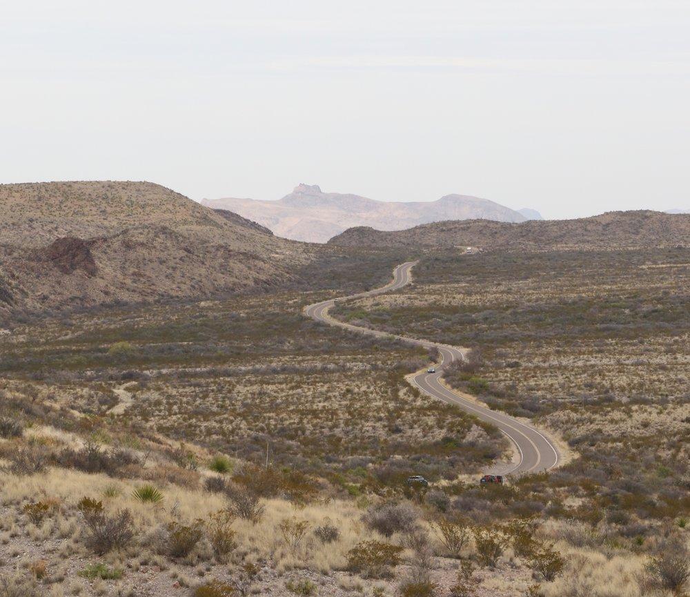 Bendy road, Big Bend