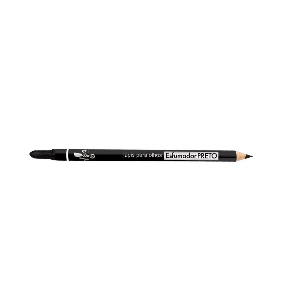 Lápis com Esfumador para Olhos Preto 1,4g - R$ 24,90