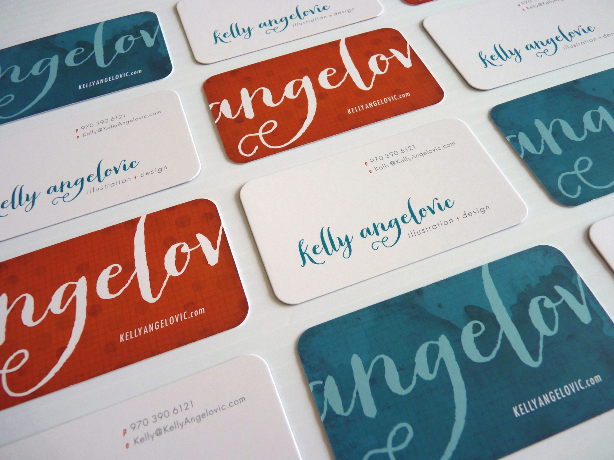 New business cards for Kelly