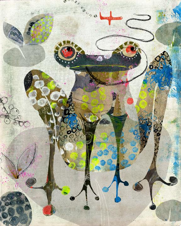 Frog by Andrea D'Aquino