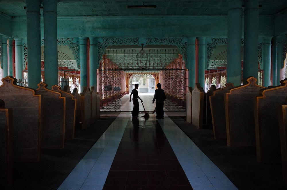 Maha Ledi Sayadaw Monastery in Monywa