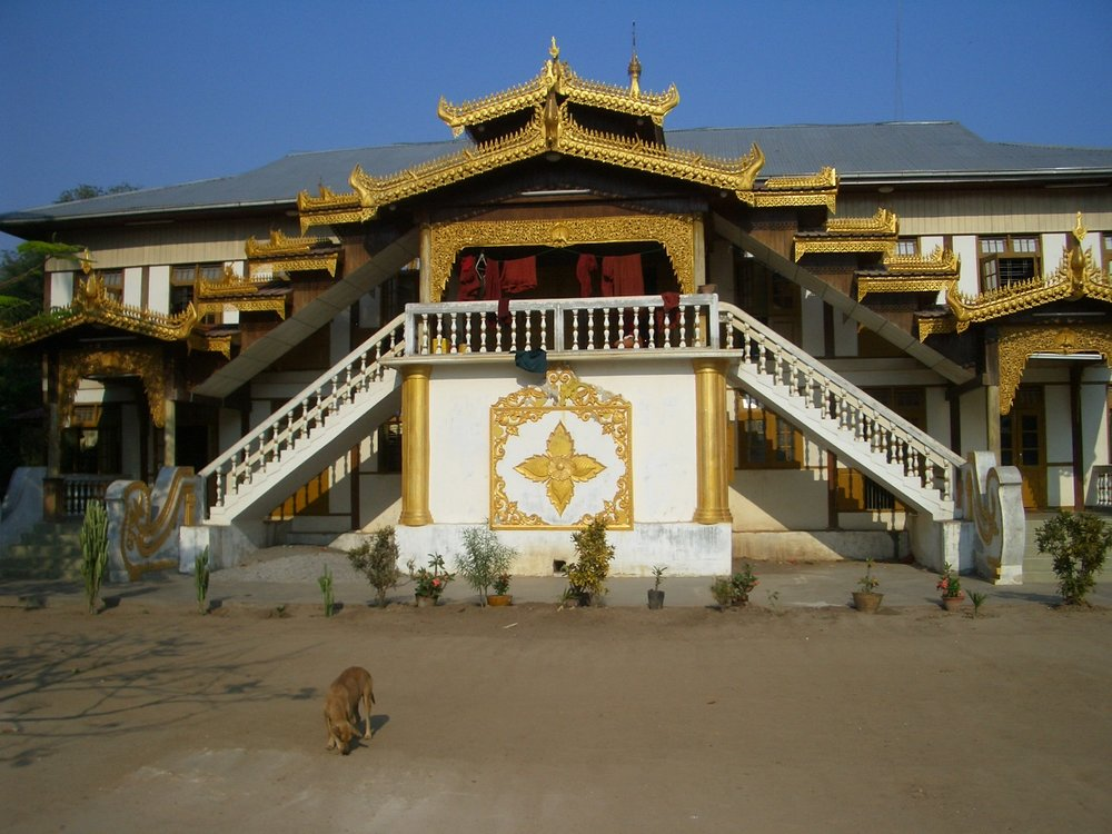 Webu Sayadaw Monastery in Ingyinbin