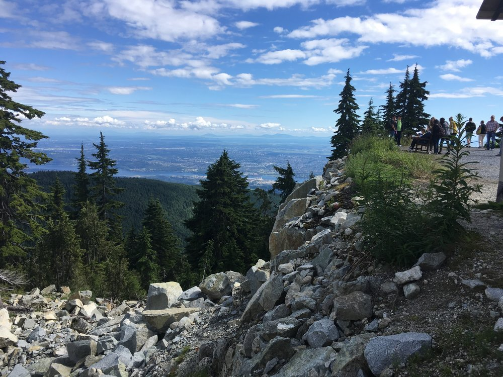 View of Metro Vancouver from Grouse Mountain