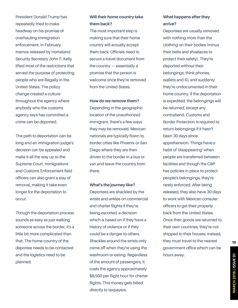 The final thing I couldn't figure out was how to address the spacing between paragraphs, debating between leaving a full space, or increasing the spacing for the whole publication so it was equal throughout.