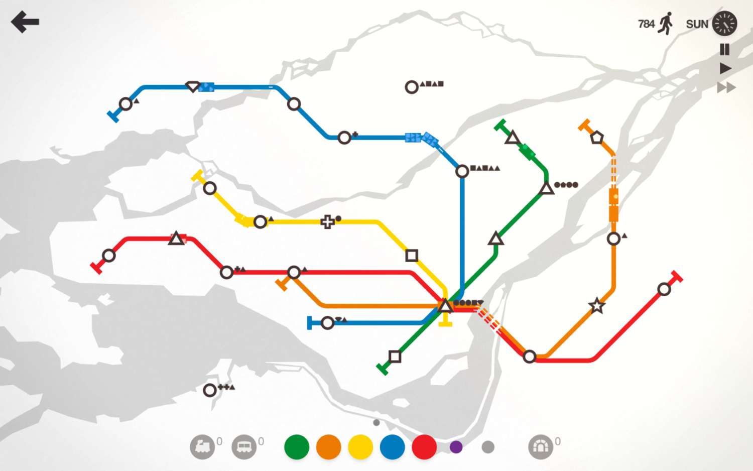 Ideal Nyc Subway Map Efficient.Mini Metro Will Show You The Science Behind Designing A Subway Low