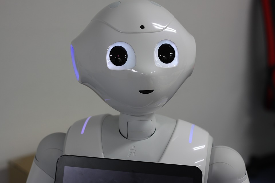 Softbank robot Pepper. 📸:  Pixabay