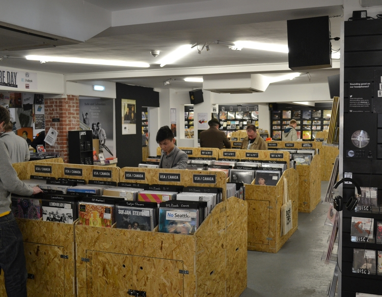 Design and fabrication fit out for Rough Trade