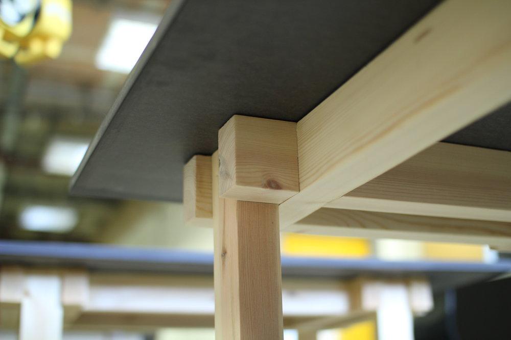 Underside joint detail