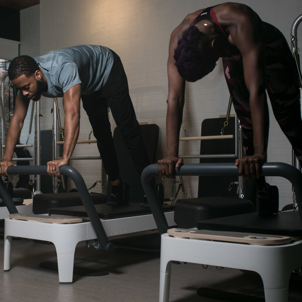 PILATES REFORMED - Located in our Pilates Reformed studio.It's time to get reformed. These classes combine 3 key Pilates apparatus—Reformer, Tower, & Chair—for a supported yet challenging and creative workout. It's perfect for strengthening & aligning the body from head to toe.