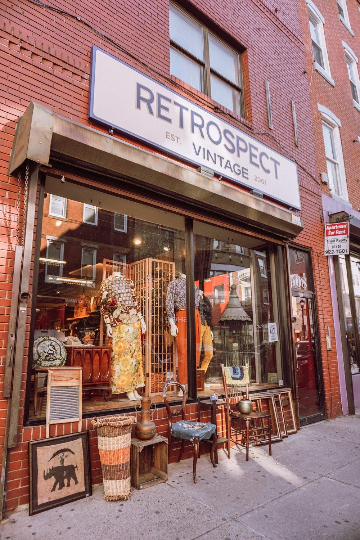 RETROSPECT VINTAGE - 508 South Street, Philadelphia, PA@retrospectvintageVisit website