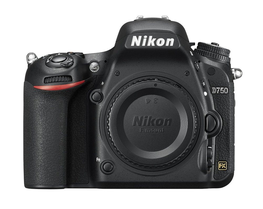 camera - Nikon D750 FX-format Digital SLR Camera Body