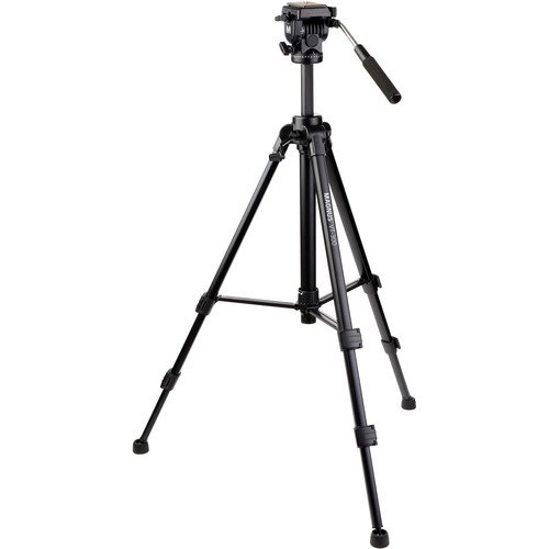 Tripod - Magnus VT-300 Video Tripod with Fluid Head