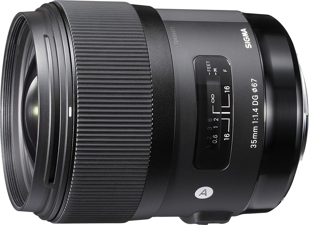 35mm lens - Sigma 35mm F1.4 ART DG HSM Lens for Nikon