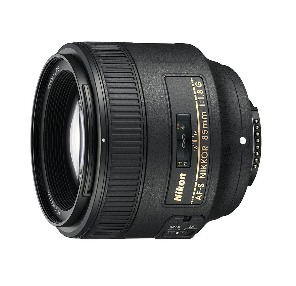 85mm Lens - Nikon AF S NIKKOR 85mm f/1.8G Fixed Lens with Auto Focus for Nikon DSLR Cameras