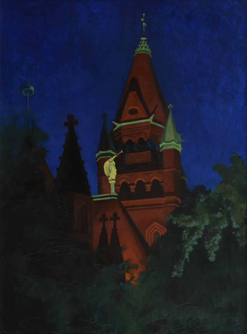 """Gabriel, oil on canvas, 24"""" x 18"""""""