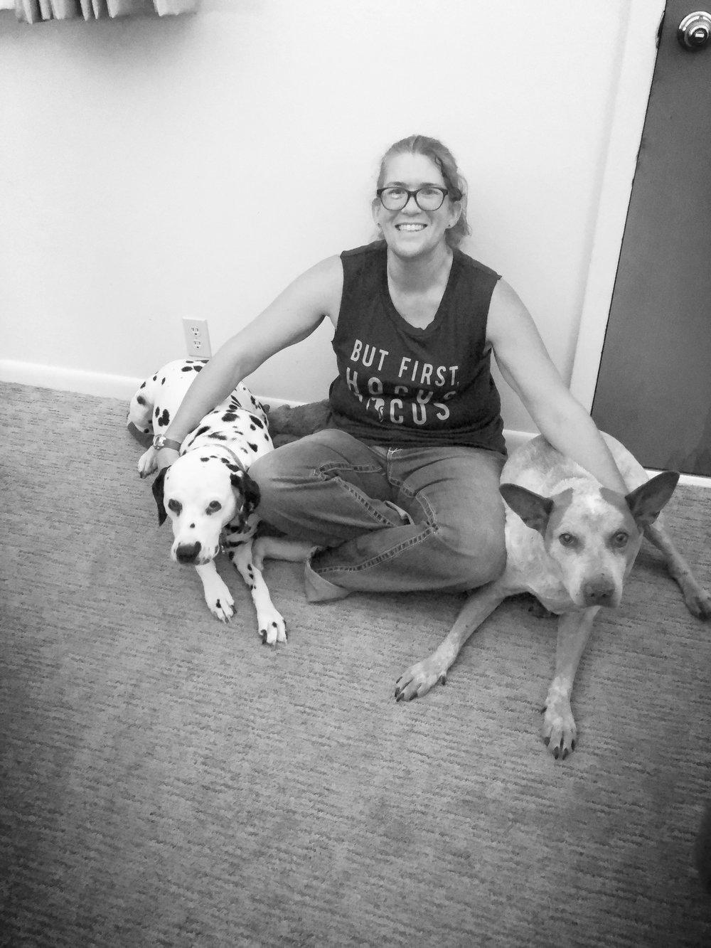 Robin, certified veterinary technician