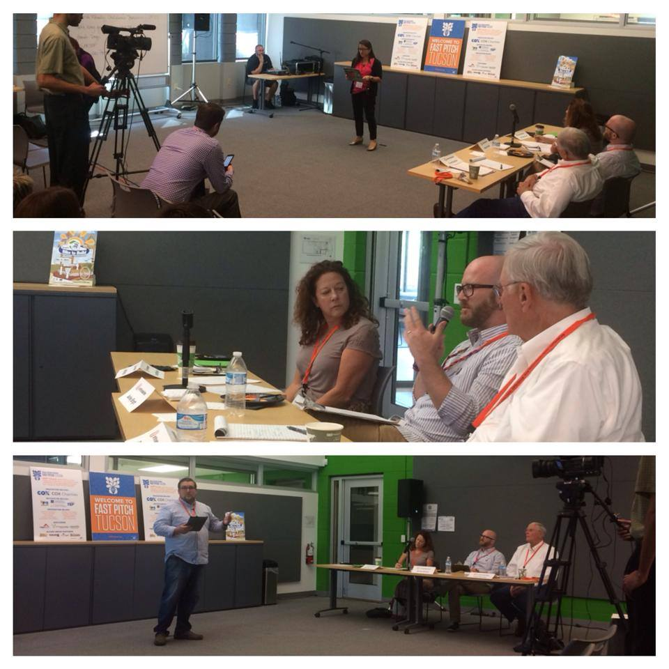 Great pitches, people and passion on display at the Fast Pitch practice session - Thanks @ Social Venture Partners Tucson -