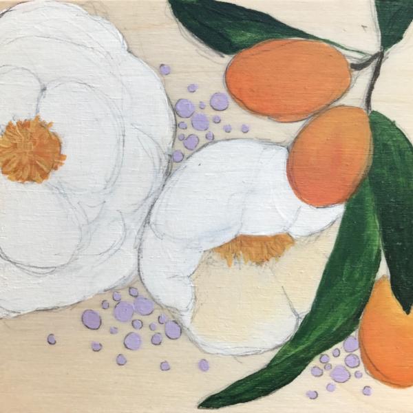 """""""Kumquats & White"""""""