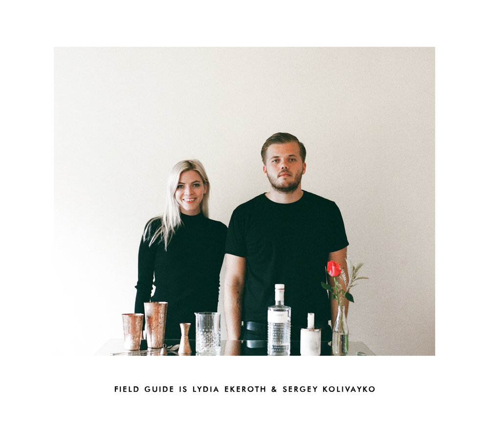 Field Guide is a San Diego based multi-disciplinary creative studio working to develop beautiful and forward thinking visuals for a range of innovative culinary, lifestyle, music and arts clients.