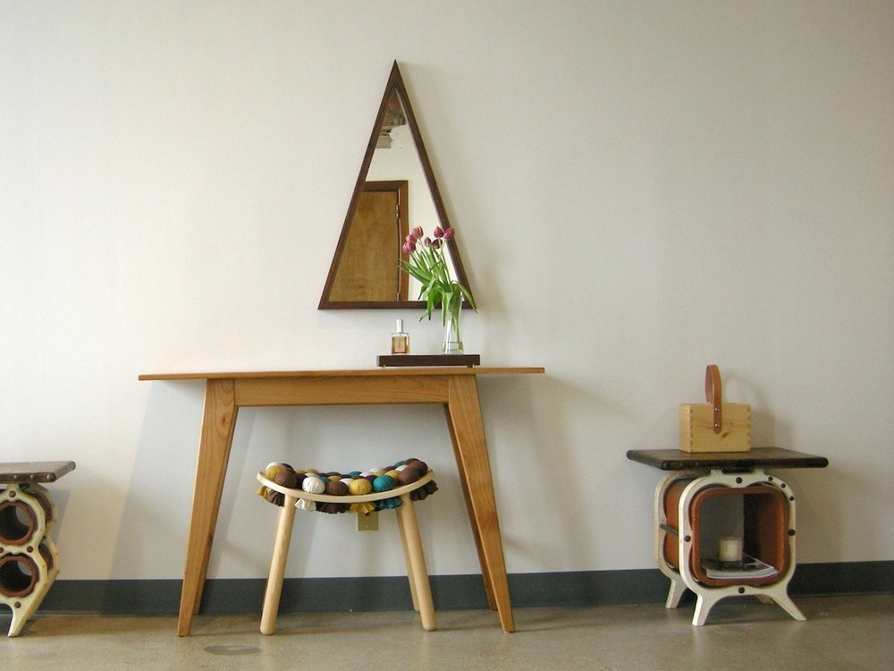 NEXTSPACE Shaker Style Console Table