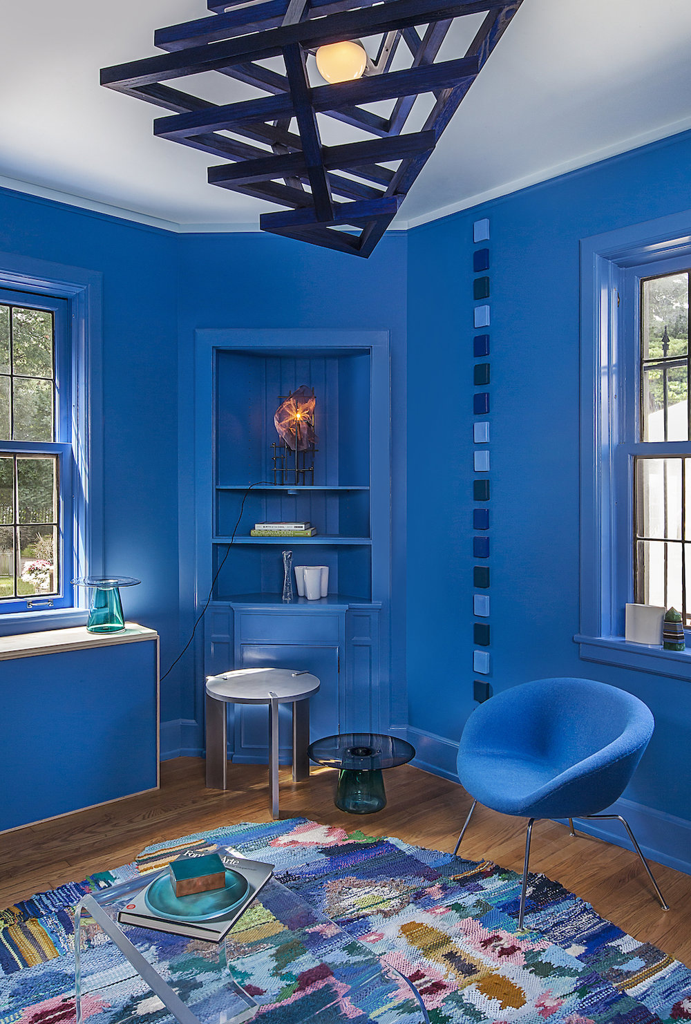 The Blue Room. Featuring Contemporary Detroit design from Next Space