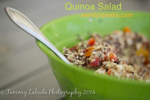 quinoa salad pic