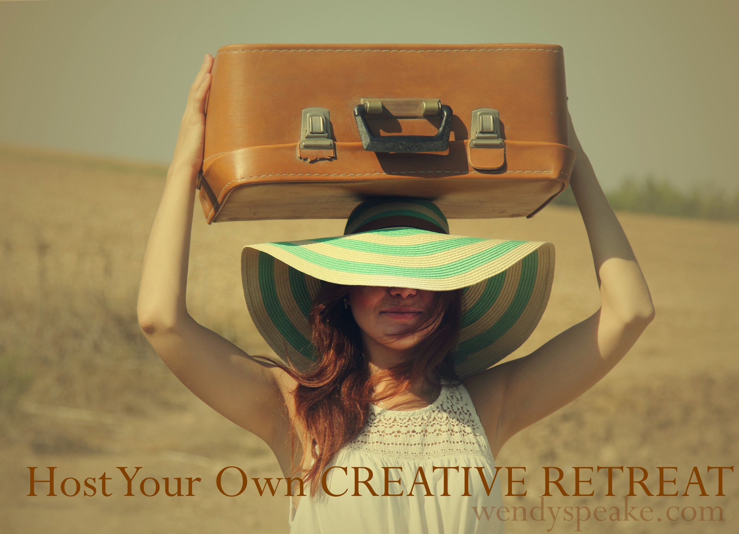 Host your own creative retreat