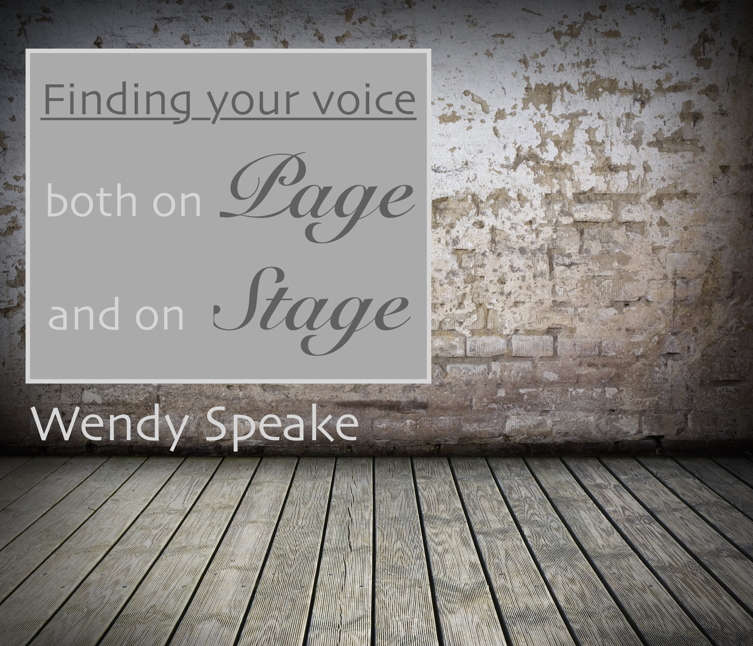 finding your voice - Graphic 1