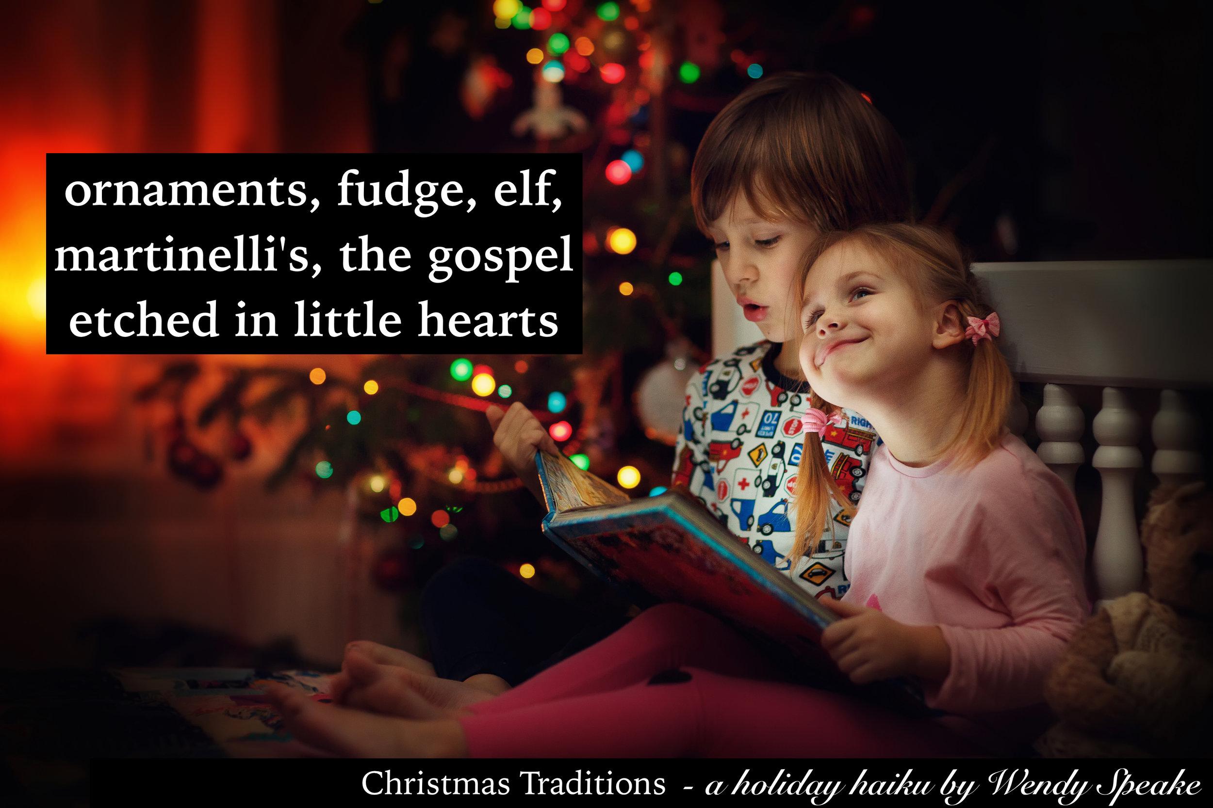 christmaskids haiku