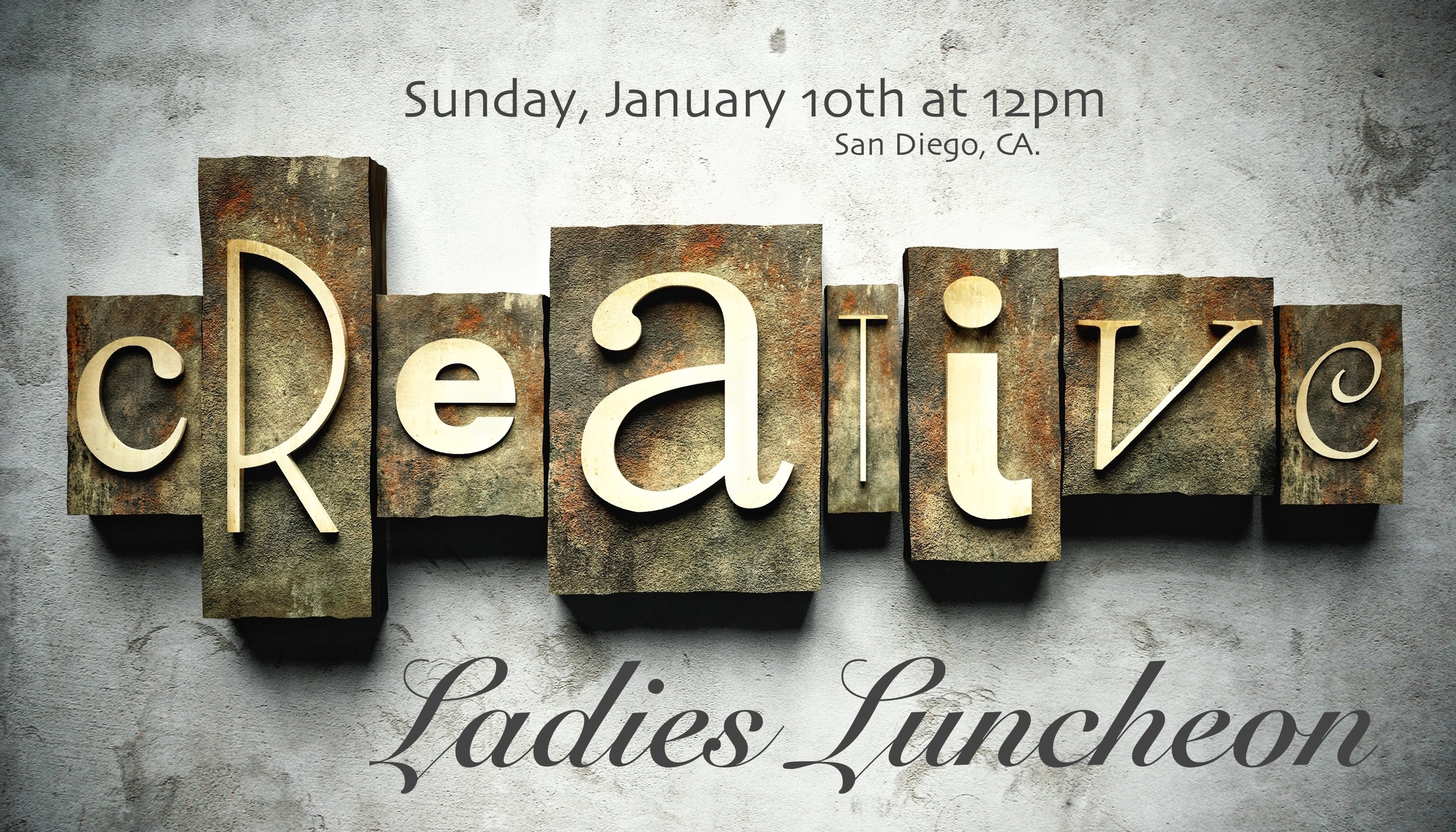 creative ladies luncheon