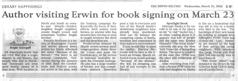 Book signing article in Erwin.jpeg