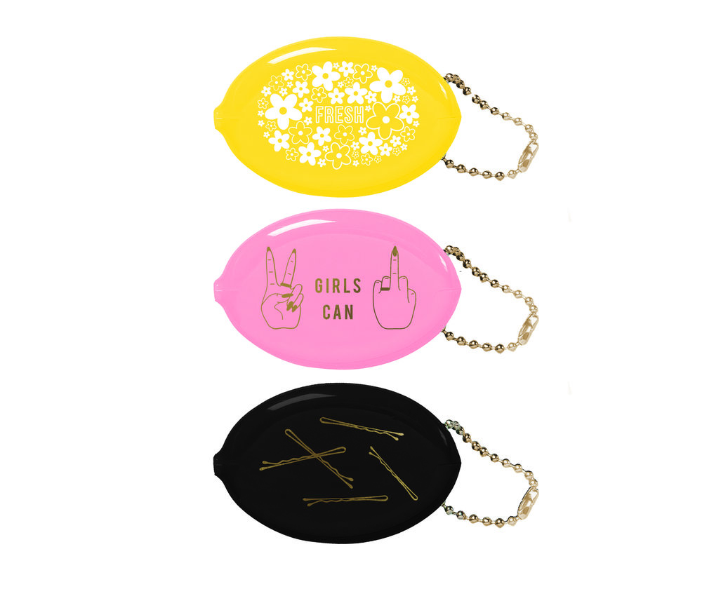 cute coin pouches to hold all your random girly shit!