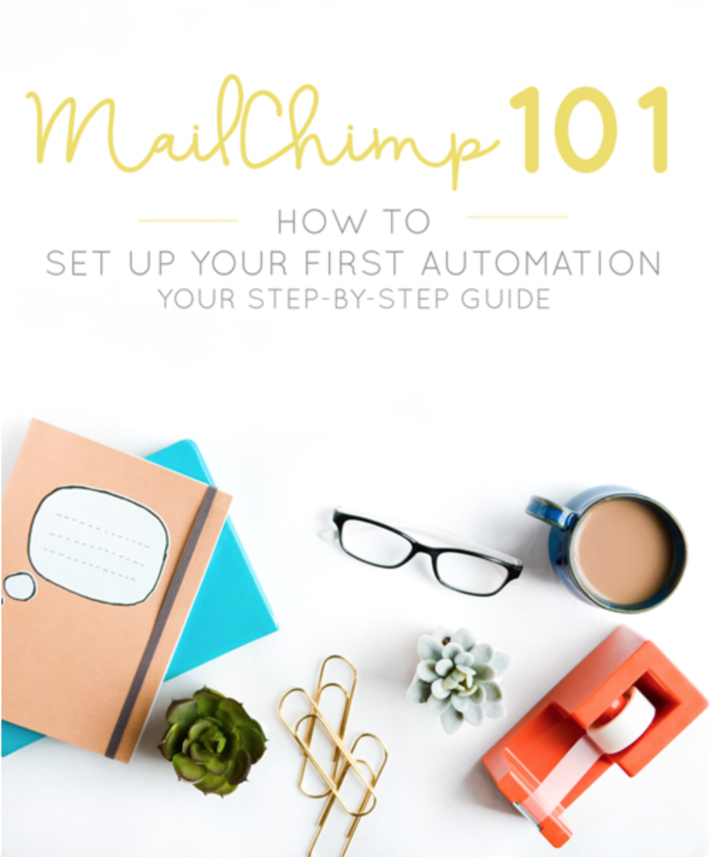 For you: - Click the photo by Think Creative Collective to help start your first email automation!