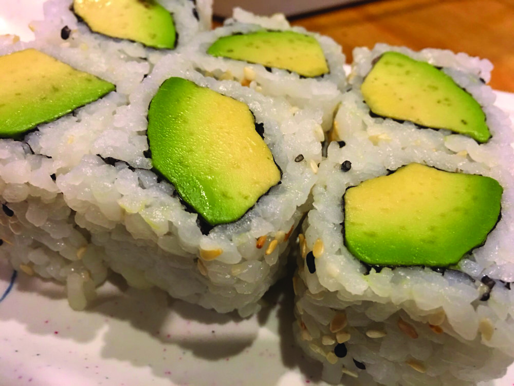 Avocado Roll  - Avocado and rice   6.00